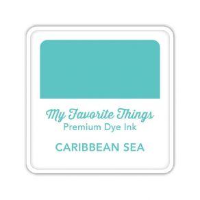 Encre Premium Dye Ink Cube CARIBBEAN SEA par My Favorite Things. Scrapbooking et loisirs créatifs. Livraison rapide et cadeau...