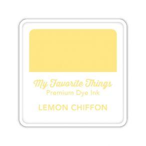 Encre Premium Dye Ink Cube LEMON CHIFFON par My Favorite Things. Scrapbooking et loisirs créatifs. Livraison rapide et cadeau...