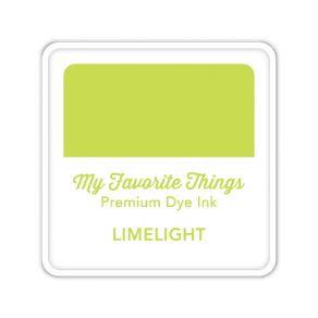 Encre Premium Dye Ink Cube LIMELIGHT par My Favorite Things. Scrapbooking et loisirs créatifs. Livraison rapide et cadeau dan...