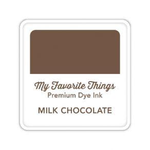 Encre Premium Dye Ink Cube MILK CHOCOLATE par My Favorite Things. Scrapbooking et loisirs créatifs. Livraison rapide et cadea...