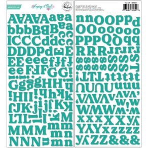Stickers puffy KEEPING IT REAL ALPHA par Pinkfresh Studio. Scrapbooking et loisirs créatifs. Livraison rapide et cadeau dans ...
