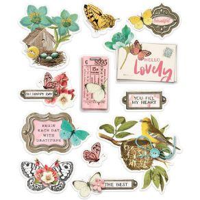 Stickers SIMPLE VINTAGE COTTAGE FIELDS par Simple Stories. Scrapbooking et loisirs créatifs. Livraison rapide et cadeau dans ...