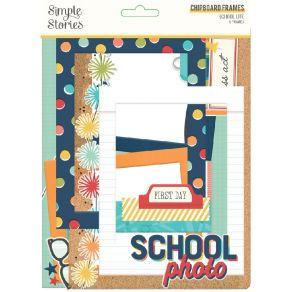 Chipboards School Life FRAMES par Simple Stories. Scrapbooking et loisirs créatifs. Livraison rapide et cadeau dans chaque co...