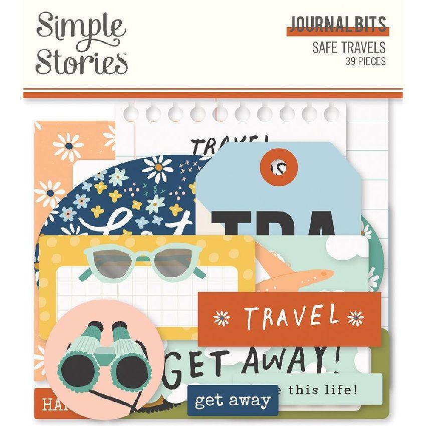 Die cuts Safe Travels BITS & PIECES JOURNAL par Simple Stories. Scrapbooking et loisirs créatifs. Livraison rapide et cadeau ...