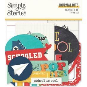 Die cuts School Life BITS & PIECES JOURNAL par Simple Stories. Scrapbooking et loisirs créatifs. Livraison rapide et cadeau d...