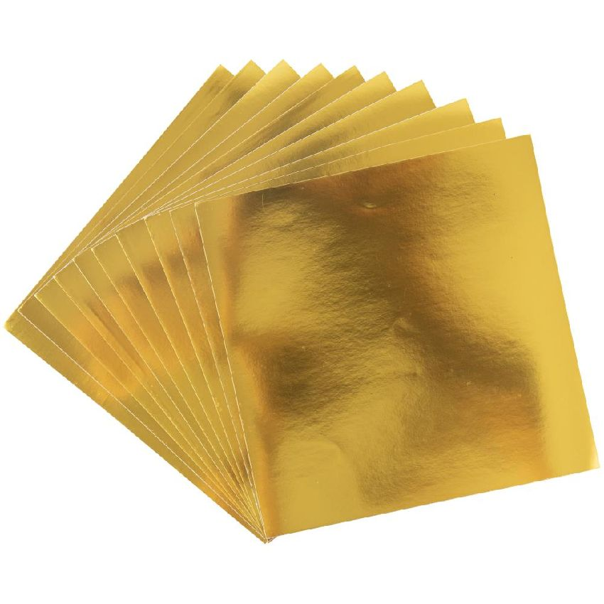 10 feuilles aluminium 15 x 15 Sizzix Surfacez GOLD par Sizzix. Scrapbooking et loisirs créatifs. Livraison rapide et cadeau d...
