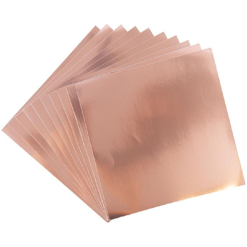 10 feuilles aluminium 15 x 15 Sizzix Surfacez ROSE GOLD par Sizzix. Scrapbooking et loisirs créatifs. Livraison rapide et cad...