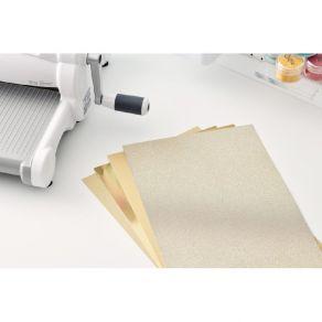 Kit de papiers cartonnés Surfacez Opulent GOLD par Sizzix. Scrapbooking et loisirs créatifs. Livraison rapide et cadeau dans ...