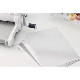 Kit de papiers cartonnés Surfacez Opulent SILVER par Sizzix. Scrapbooking et loisirs créatifs. Livraison rapide et cadeau dan...
