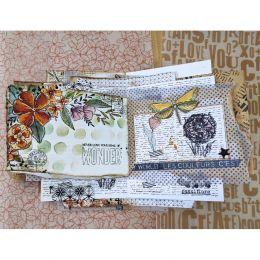 Pochoir LES POIS par Chou and Flowers. Scrapbooking et loisirs créatifs. Livraison rapide et cadeau dans chaque commande.