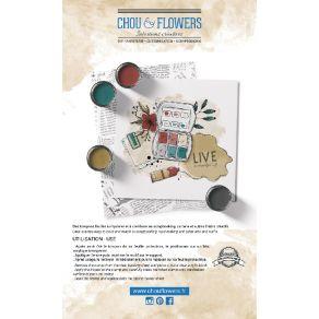 Tampon clear ART par Chou and Flowers. Scrapbooking et loisirs créatifs. Livraison rapide et cadeau dans chaque commande.
