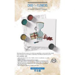 Tampon clear ECRITURE par Chou and Flowers. Scrapbooking et loisirs créatifs. Livraison rapide et cadeau dans chaque commande.