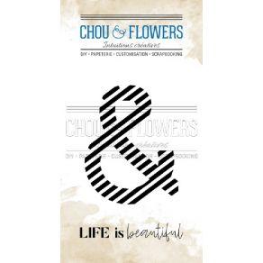 Tampon clear ESPERLUETTE RAYURE par Chou and Flowers. Scrapbooking et loisirs créatifs. Livraison rapide et cadeau dans chaqu...