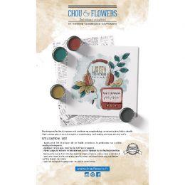 Tampon clear MUSIQUE par Chou and Flowers. Scrapbooking et loisirs créatifs. Livraison rapide et cadeau dans chaque commande.