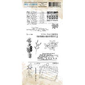 Tampon clear NOTES par Chou and Flowers. Scrapbooking et loisirs créatifs. Livraison rapide et cadeau dans chaque commande.