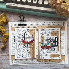 Tampon clear PELE-MELE par Chou and Flowers. Scrapbooking et loisirs créatifs. Livraison rapide et cadeau dans chaque commande.