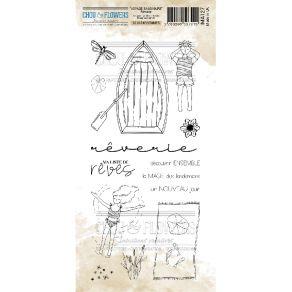 Tampon clear REVERIE par Chou and Flowers. Scrapbooking et loisirs créatifs. Livraison rapide et cadeau dans chaque commande.