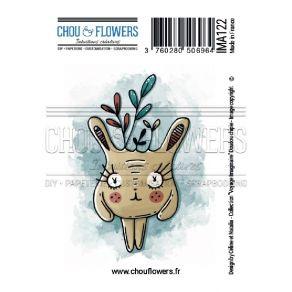 Tampon non monté CHIPIE par Chou and Flowers. Scrapbooking et loisirs créatifs. Livraison rapide et cadeau dans chaque commande.