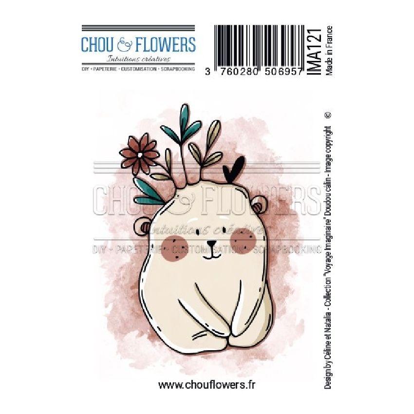 Tampon non monté DOUDOU CALIN par Chou and Flowers. Scrapbooking et loisirs créatifs. Livraison rapide et cadeau dans chaque ...