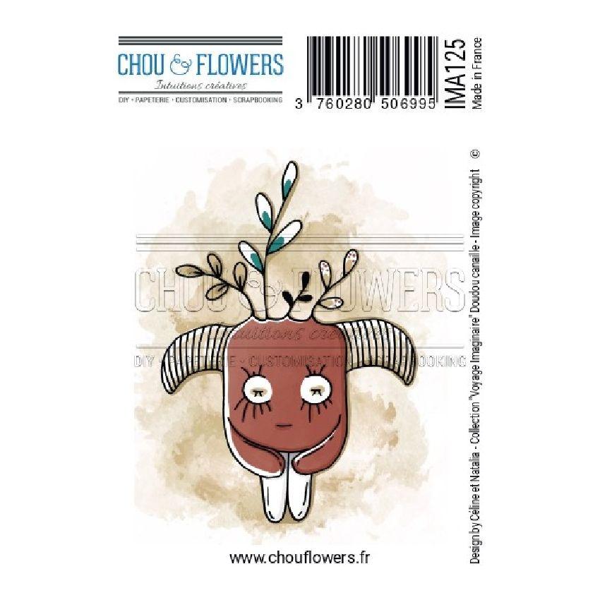 Tampon non monté DOUDOU CANAILLE par Chou and Flowers. Scrapbooking et loisirs créatifs. Livraison rapide et cadeau dans chaq...