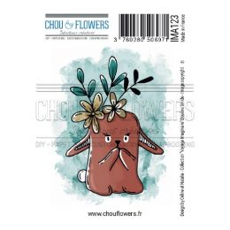 Tampon non monté DOUDOU TIMIDE par Chou and Flowers. Scrapbooking et loisirs créatifs. Livraison rapide et cadeau dans chaque...
