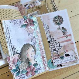 Tampon non monté ENVOL FLORAL par Chou and Flowers. Scrapbooking et loisirs créatifs. Livraison rapide et cadeau dans chaque ...