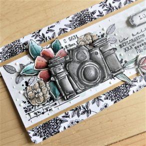 Tampon non monté PHOTOGRAPHIE par Chou and Flowers. Scrapbooking et loisirs créatifs. Livraison rapide et cadeau dans chaque ...