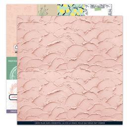 Papier imprimé DOLCE VITA 3 par Florilèges Design. Scrapbooking et loisirs créatifs. Livraison rapide et cadeau dans chaque c...