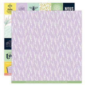 Kit papiers imprimés DOLCE VITA par Florilèges Design. Scrapbooking et loisirs créatifs. Livraison rapide et cadeau dans chaq...