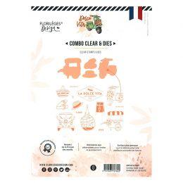 Combo Clear Dies ÉVASION ET DÉTENTE par Florilèges Design. Scrapbooking et loisirs créatifs. Livraison rapide et cadeau dans ...