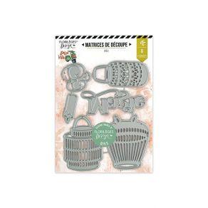 Outils de découpe LANTERNES par Florilèges Design. Scrapbooking et loisirs créatifs. Livraison rapide et cadeau dans chaque c...