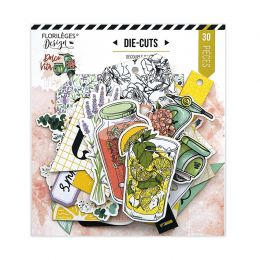 Die cuts imprimés DOLCE VITA par Florilèges Design. Scrapbooking et loisirs créatifs. Livraison rapide et cadeau dans chaque ...