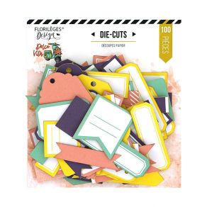 Étiquettes N°27 DOLCE VITA par Florilèges Design. Scrapbooking et loisirs créatifs. Livraison rapide et cadeau dans chaque co...