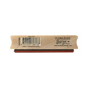 Tampon bois APÉRO TIME par Florilèges Design. Scrapbooking et loisirs créatifs. Livraison rapide et cadeau dans chaque commande.