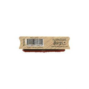 Tampon bois IL ÉTAIT UNE FOIS par Florilèges Design. Scrapbooking et loisirs créatifs. Livraison rapide et cadeau dans chaque...