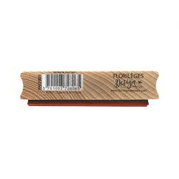 Tampon bois MOMENT POUR SOI par Florilèges Design. Scrapbooking et loisirs créatifs. Livraison rapide et cadeau dans chaque c...
