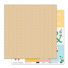 Papier imprimé SO'BLOOM 5 par Sokai. Scrapbooking et loisirs créatifs. Livraison rapide et cadeau dans chaque commande.