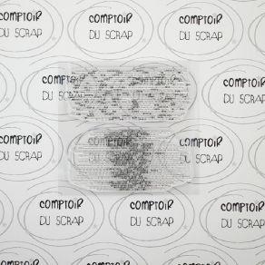Tampon clear FOND CODÉ par Comptoir du Scrap. Scrapbooking et loisirs créatifs. Livraison rapide et cadeau dans chaque commande.