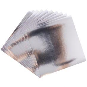10 feuilles aluminium 15 x 15 Sizzix Surfacez SILVER par Sizzix. Scrapbooking et loisirs créatifs. Livraison rapide et cadeau...