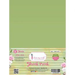 10 feuilles de plastique fou Shrink Pink Frosted OLIVE GREEN par Dress My Craft. Scrapbooking et loisirs créatifs. Livraison ...