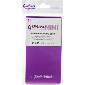 Feuille plastique MINI PURPLE PLASTIC SHIM par Gemini. Scrapbooking et loisirs créatifs. Livraison rapide et cadeau dans chaq...