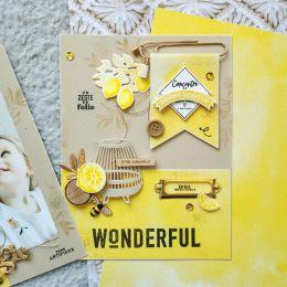 Tampons clear SWEET LOVE par Florilèges Design. Scrapbooking et loisirs créatifs. Livraison rapide et cadeau dans chaque comm...