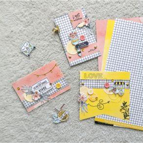 Papier imprimé DOLCE VITA 8 par Florilèges Design. Scrapbooking et loisirs créatifs. Livraison rapide et cadeau dans chaque c...