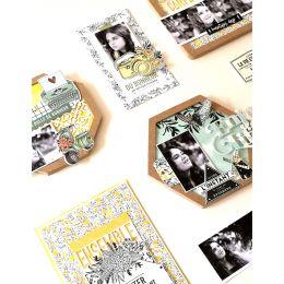 Tampon bois FEUILLAGE SILHOUETTE par Florilèges Design. Scrapbooking et loisirs créatifs. Livraison rapide et cadeau dans cha...