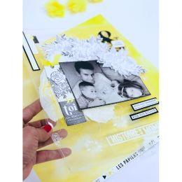 Tampon bois BOUQUET PARFAIT par Florilèges Design. Scrapbooking et loisirs créatifs. Livraison rapide et cadeau dans chaque c...