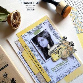 Tampon bois PHOTO SOUVENIR par Florilèges Design. Scrapbooking et loisirs créatifs. Livraison rapide et cadeau dans chaque co...