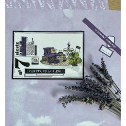 Tampon bois EN MODE ZEN par Florilèges Design. Scrapbooking et loisirs créatifs. Livraison rapide et cadeau dans chaque comma...