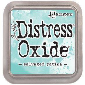 Encre Distress OXIDE SALVAGED PATINA par Ranger. Scrapbooking et loisirs créatifs. Livraison rapide et cadeau dans chaque com...