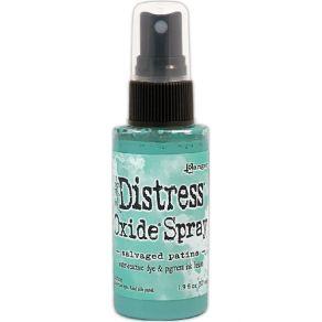 Encre Distress Oxide Spray SALVAGED PATINA par Ranger. Scrapbooking et loisirs créatifs. Livraison rapide et cadeau dans chaq...
