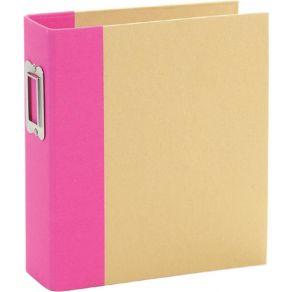 Album à pochettes Snap Flipbook 15X20 PINK par Simple Stories. Scrapbooking et loisirs créatifs. Livraison rapide et cadeau d...